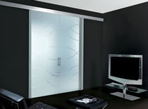glazed sliding double door FANTOMAS:027 unico italia