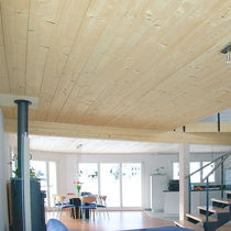 glulam timber deck slab for floor BS DUO-/TRIO-BALKEN® HOLZWERK GEBR.SCHNEIDER