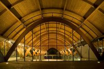 glulam timber wood roof truss  HABITAT LEGNO
