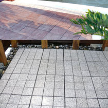 granite paving tile for exterior floors JOINTSTONE INTERLOCKING GRANITE DECKTILES Infinita Corporation