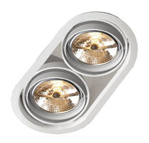 halogen downlight (recessed) ECLIPS TWIN TAL