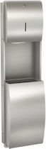 hand towel dispenser with stainless dust-bin STRATOS : STRX602E Franke Washroom Systems