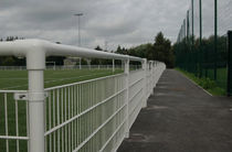 handrail for sports pitch  HERAS