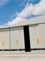 hangar door for commercial and military airport MULTI-TECH MEGA Indotech
