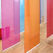 hanging partition  DESIGNTEX