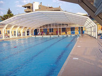 high enclosure for public pool ENERGY 195 A. DI ARCOBALENO
