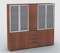 high office bookcase UNI Della Rovere