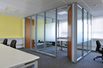 high resistance removable glass partition SYSTEM 7000 SAS International