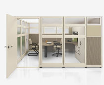 high resistance removable glass partition NVISION Groupe Lacasse