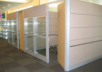 high resistance removable glass partition INNOTILE Innoplan