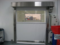 high-speed roll-up door for clean room and pharmaceutical industry PHARMA-ROLL&reg; Rytec