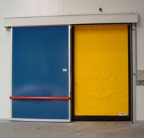 high-speed roll-up door for cold storage FREEZER M2 IDOMUS Ltd.