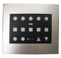 home automation system for ligthing with touch-screen E-SCENE® e-controls
