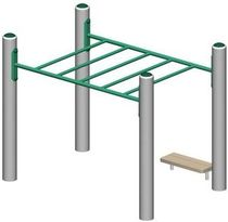 horizontal ladder for playground MEC620  BigToys
