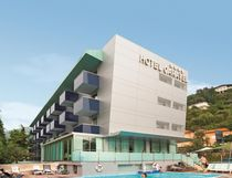 HPL laminate panel for exterior HOTEL CARAVEL TRESPA