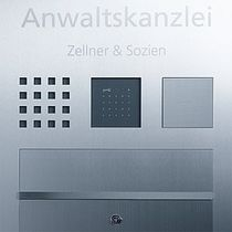 iKey reader for access control SIEDLE STEEL SSS SIEDLE
