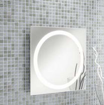 illuminated bathroom mirror BERNA CUADRADO Salgar