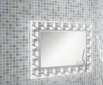 illuminated bathroom mirror (LED) RETRO 800 Salgar