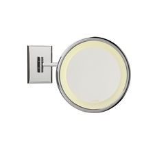 illuminated bathroom shaving mirror REFLET C 19 Brot