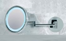 illuminated bathroom shaving mirror KRISTAL VISION 850 o/or 450 ELITE