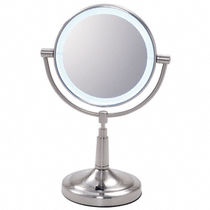 illuminated bathroom shaving mirror ZLEDV45  CR Laurence 