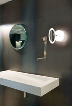 illuminated bathroom shaving mirror ESPEJITO by Joan Gaspar Marset Iluminacion