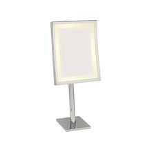 illuminated bathroom shaving mirror SQUARE LM/AP Brot