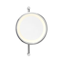 illuminated bathroom shaving mirror HORIZON C 24 Brot