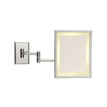 illuminated bathroom shaving mirror SQUARE LM/BD Brot