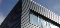 imitation wood composite facade cladding MAX EXTERIOR FunderMax