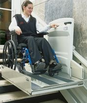 inclined lifting platform for the disabled APEX IPL Nationwide Lifts