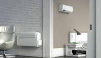 individual floor standing air conditioner (split system) UNICO TWIN Olimpia Splendid