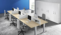 individual workstation for open plan office TEKO: 09 Colombini