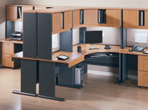 individual workstation for open plan office SERIES A BUSH INDUSTRIES