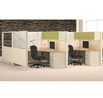 individual workstation for open plan office UNITE SYSTEM KI