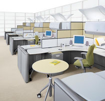 individual workstation for open plan office WIREWORKS&reg; KI