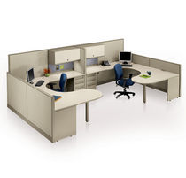 individual workstation for open plan office SYSTEM 3000 KI