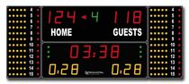 indoor electronic display panel 352 MF 7020 FIBA STRAMATEL