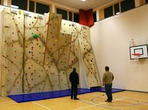 indoor fixed climbing wall CRISTALITHE ENTRE-PRISES