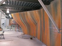 indoor fixed climbing wall 3D CURVES Walltopia