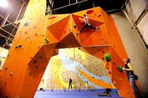 indoor fixed climbing wall CLIMBING ARCHES Walltopia