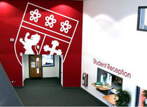 indoor signage wall sticker (custom made) WALL GRAPHICS Modulex