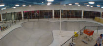 indoor skatepark MODERN, MI TEAM PAIN