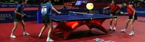 indoor synthetic sports floor TARAFLEX™ TABLE TENNIS Gerflor - Sols Sportifs