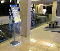 indoor wayfinding signage RADISSON BLU DAKAR Signo