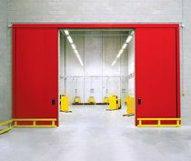 industrial sliding door RF 60 / RF 120 DOUBLE LEAF PADILLA