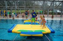 inflatable play module for public pools OVAL Wibit Sports