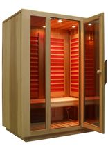 infrared sauna SAUNA INFRAROSSI EURACOM Euracom