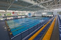inground commercial training pool (for indoors) TECNOLOGIA MYRTHA, AQUANIENE ROMA PISCINE CASTIGLIONE