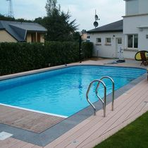 inground concrete swimming pool (polymer formwork) AUTHENTIC'Ô Mondial Piscines